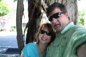 Hubby & I in Sanibel, FL.