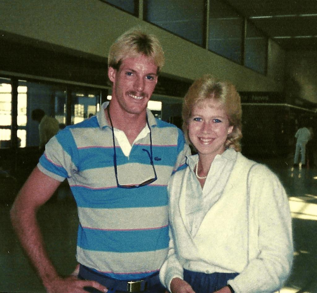 Sherry_ Doug Oct. 1984